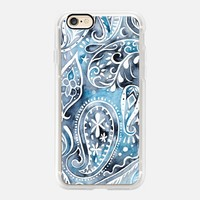 Indigo Paisley iPhone 7 Case by omness | Casetify (iPhone 6s 6 Plus SE 5s 5c & more)