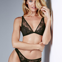 Limited Edition Fishnet & Lace Thong Panty - Very Sexy - Victoria's Secret