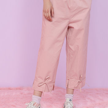 Tyakasha The Cat Cropped Pants