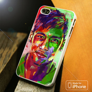 Neymar Vector iPhone 4 5 5C SE 6 Plus Case