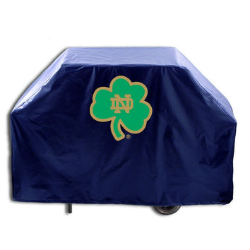 NCAA Notre Dame  (Shamrock) 72-inch Grill Cover