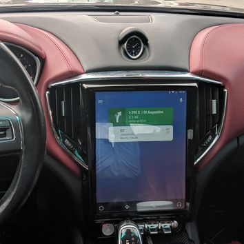 Tesla Style Screen for Maserati Ghibli 2014-2016
