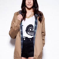 Pop Anorak Beige