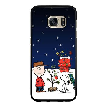 Charlie Brown Christmas Peanuts 001 Samsung Galaxy S7 Case