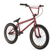 Haro 400.1 Gloss Trans Red Bmx Bike 20.5""