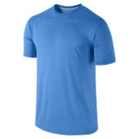 Nike Dri-FIT Touch Stripe Men's Training Shirt - Photo Blue