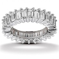 2 1/4ct tw Diamond Anniversary Ring in 14K White Gold - Anniversary - Diamond Rings - Jewelry & Gifts