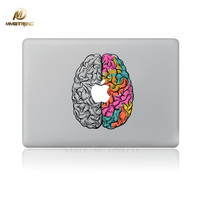 Mimiatrend Left and Right Brain Laptop Skin Sticker Protective for Macbook Air Pro Retina 13 15 Inch Skins Case Stickers