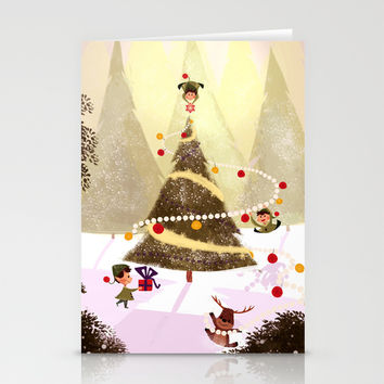 Christmas Stationery Cards by Orelly