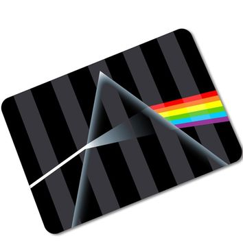 Autumn Fall welcome door mat doormat MDCT Modern Black Striped Geometric Arts s Area Rugs 3D Rainbow Butterfly Bedroom Living Room Entrance Floor Mats Carpet AT_76_7