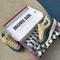 Nike Air Max 1/97 Sean Wotherspoon VF SW HYbrid Sports Running Shoes Sneaker AJ4219-400