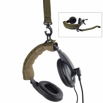 Advanced Modular Headset Cover Molle Headband for General Tactical Earmuffs  Microphone Hunting Shooting Headphone Cover