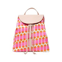 Half-Circle Backpack in Cubic