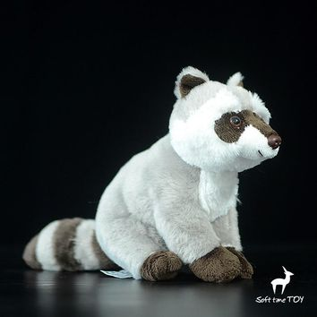 Raccoon Stuffed Animal Plush Toy 8""