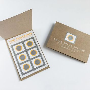 Total Solar Eclipse Collector Stamp Set