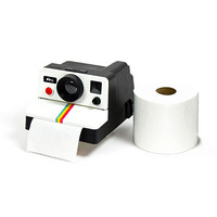 Polaroid Toilet Roll Cover