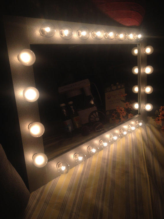 lighted vanity mirror called diva the from woodubemine mirror. Black Bedroom Furniture Sets. Home Design Ideas