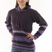 Hooded Inca Sweater