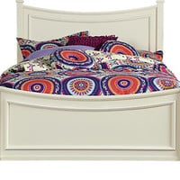 Jaclyn Place Ivory 3 Pc Twin Bed - Twin Beds Light Wood