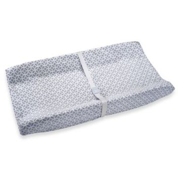 Wendy Bellissimo™ Mix & Match Contoured Changing Pad Cover in Pearl Grey