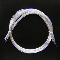 Mizuhiki - Silver Mizuhiki - Japanese Decorative Paper Strings Cords Silver