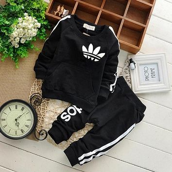 Brand Baby Boy Clothes Suits Casual Baby Girl Clothing Sets Children Suit Sweatshirts+Sports pants Spring Autumn Kids Set