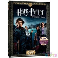 HARRY POTTER & THE GOBLET OF FIRE (DVD/P&S/4 COLLECTORS CARDS)-NLA