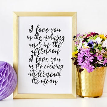 Best romantic wedding signs products on wanelo love signlove quotewall artgift for hergift for himgift for junglespirit Gallery