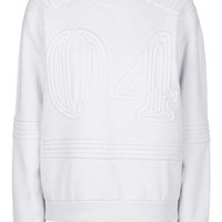 Corded '04' Sweatshirt by Ivy Park
