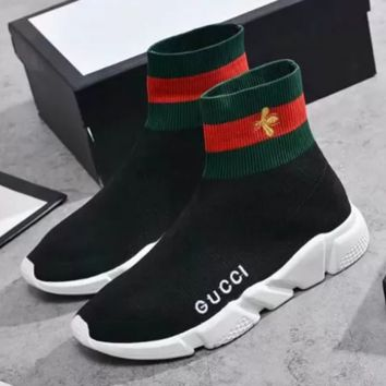 GUCCI Balenciaga Woman Men Fashion Breathable Sneakers Running Shoes
