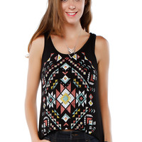 Papaya Clothing Online :: BOHEMIAN PRINT TOP