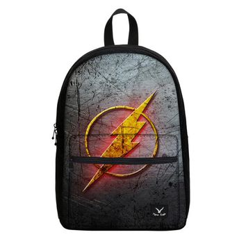 "Japanese Anime Bag VEEVANV 2017 hot explosive, trendy ""The Flash"" backpack, 3D printed canvas travel backpack, gifts for students and  fans AT_59_4"