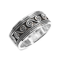 925 Sterling Silver Wiccan Craft Ring