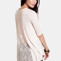 Taste Of Freedom Lace Detail Blouse