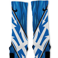 Duke Custom Nike Elite Socks