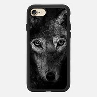black wolf iPhone 6 Case by Marianna | Casetify
