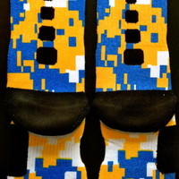 freshswagg — Nike Elite Bruins Digital Camo Crew Socks