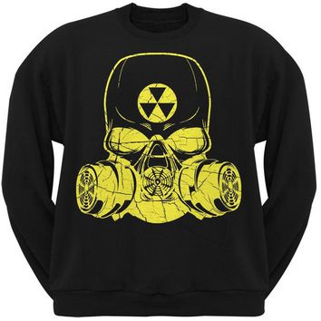 DCCK8UT Guerrilla Warfare Radiation Black Adult Crew Neck Sweatshirt