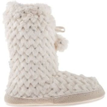 Academy - Magellan Outdoors™ Women's Snow Sequin Bootie Slippers