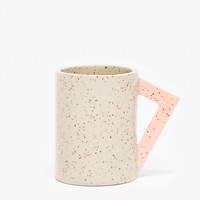 Lindsey Hampton / Angle Handle Mug
