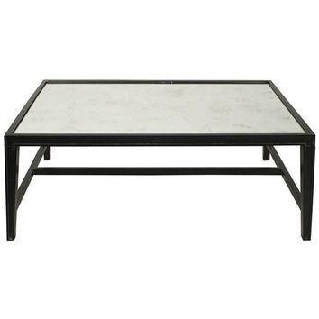 Liberty Coffee Table, Hand Rubbed Black