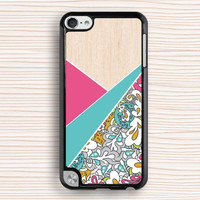 color flower ipod case,art design ipod 4 case,wood grain floral ipod 5 case,art floral touch 4 case,new design touch 5 case,vivid floral ipod touch 4 case,art wood grain floral ipod touch 5 case