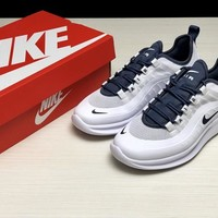 Nike Air Max Estrea Women Men Fashion Lightweight and Comfortable Sport Running Shoes White/Blue Size 36-44