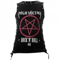 - Restless N' Wild High Voltage Pentagram Women's Vest