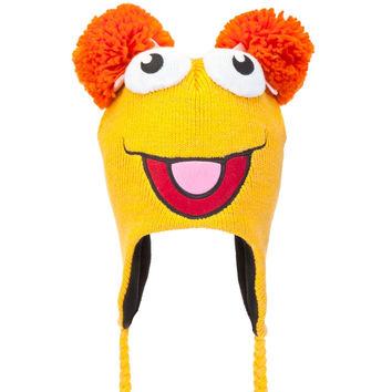 Fraggle Rock - Red Big Face Peruvian Knit Hat