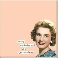 "ANNE TAINTOR 73394 ""Ctrl+Alt+Delete"" Sticky Notes"
