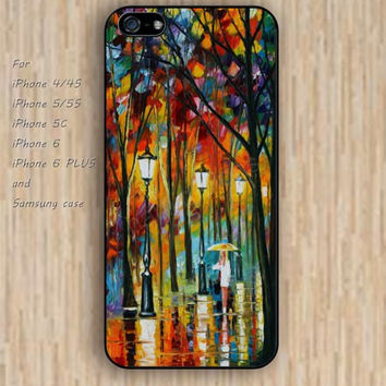 iPhone 4 5s 6 case retro watercolor tree love colorful phone case iphone case,ipod case,samsung galaxy case available plastic rubber case waterproof B662