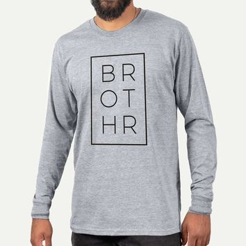 Brother Boxed - Long Sleeve Crewneck