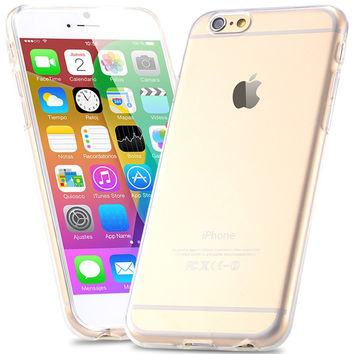 0.3mm Super Slim Crystal Clear Soft TPU Gel Case For iPhone 6 6S Slim Transparent Cover Phone Cover For iPhone 6 Plus 6S Plus