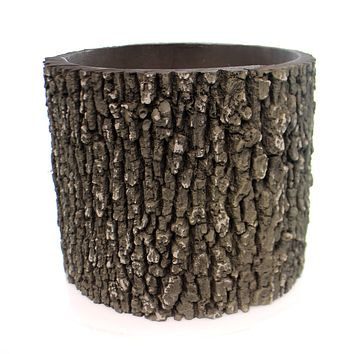 Home & Garden Log Planter Outdoor Decor